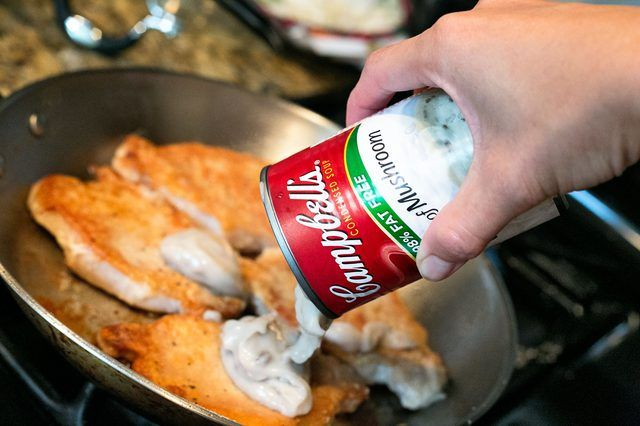Canned soups from Campbell's, one of the world's leading soup brands, have long been used in recipes for non-soup dishes. Because it comes in condensed form, it makes a suitable base for many sauces and gravies. Cooking in a sauce of Campbell's Cream of Mushroom soup is a straightforward way to cook pork chops. If …