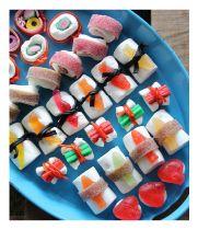 Godis-sushi