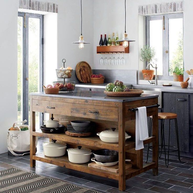 Rustic Open Kitchen: 95 Best Real Milestone Kitchens Images On Pinterest