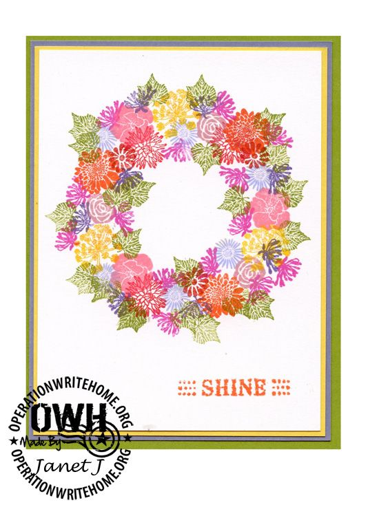owh Janet final. I think this is done with what is called rubber peg stamps by Rubber Stamp Tapestry. She had to stamp each flower leave individually.