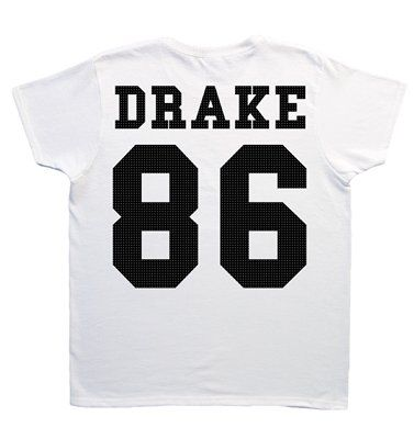 Drake Date Of Birth T-Shirt from minamo.co.uk