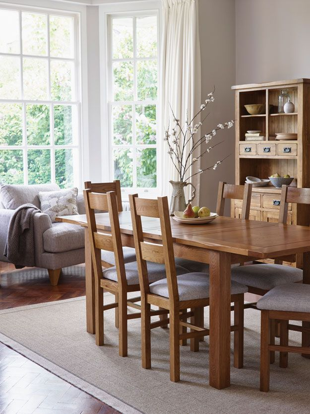 9 Things All Gorgeous Dining Rooms Should Have By Kimberly Duran Oak Room SetDining RugsKitchen DiningOak Furniture LandOak