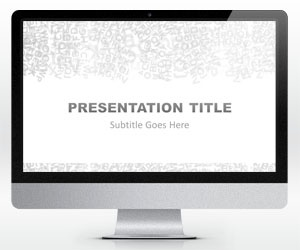 55 best abstract powerpoint templates images on pinterest free widescreen alphabet powerpoint template is a free simple light powerpoint template that you can download toneelgroepblik Choice Image