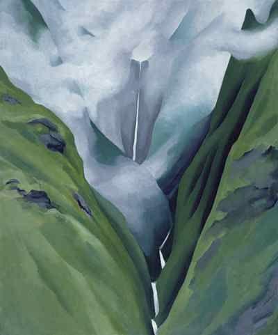 Georgia O'Keeffe, Waterfall