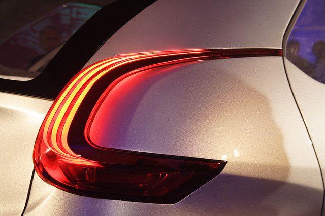 Peugeot BB1 brake light detail