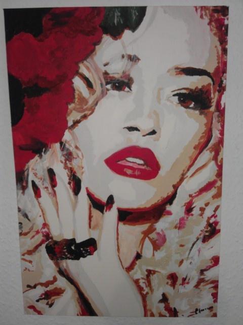 Rita Ora-OPIUM by artist Charlotte-Louise. £70