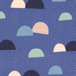 Tissu SAARISTO - mauve x 10cm