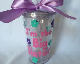 Personalized Big sister gift Big Sister Pregnancy reveal
