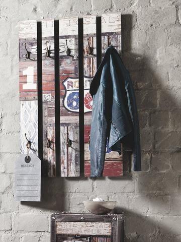 Nástěnný věšák na kabáty ROUTE 32850 - Sconto Nábytek