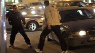 Смотреть онлайн видео #1302  Авто сумасшедшие Драки Драчуны на дороге
