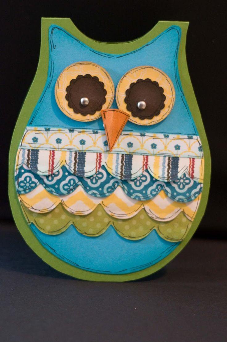 588 best owl cards boxes etc images on pinterest owl card owl jeuxipadfo Choice Image