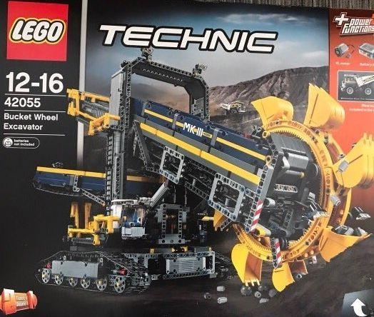 lego technic bucket wheel excavator instructions
