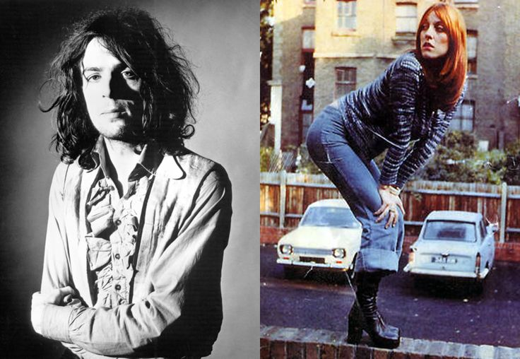 Syd Barrett e Gayla Pinion. Tra moda e musica...
