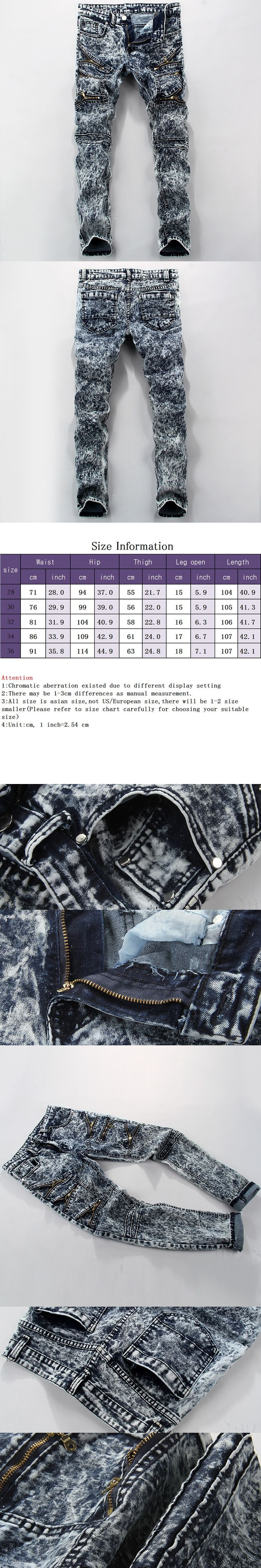 Dropshipping hip hop jeans personality popular clothing style printed patch mens jeans autumn winter men straight  trousers