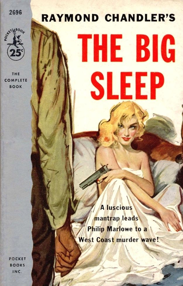 "The Big Sleep by Raymond Chandler | A ""True Detective"" Reading List  After you see the movie (the good one, with Bogart and Bacall) read the book."