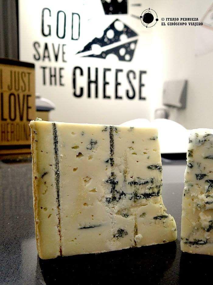 Shropshire, queso azul británico