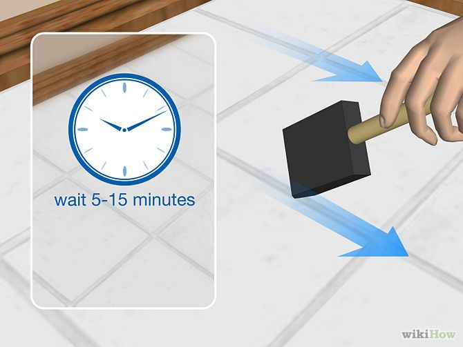 How to Seal Grout: 12 Steps (with Pictures) - wikiHow