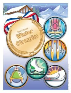 Great site for everything Olympics from decorating to activities and more! Easy to change for Summer Olympics.