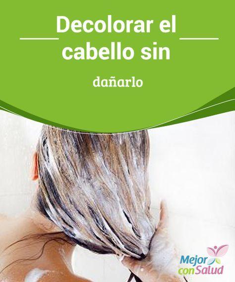 Decolorar el #Cabello sin dañarlo  Si quieres que tu cabello se aclare más rápidamente, después de #Lavarlo y aplicar todos los tratamientos deja que se seque al sol para aumentar los efectos #Belleza