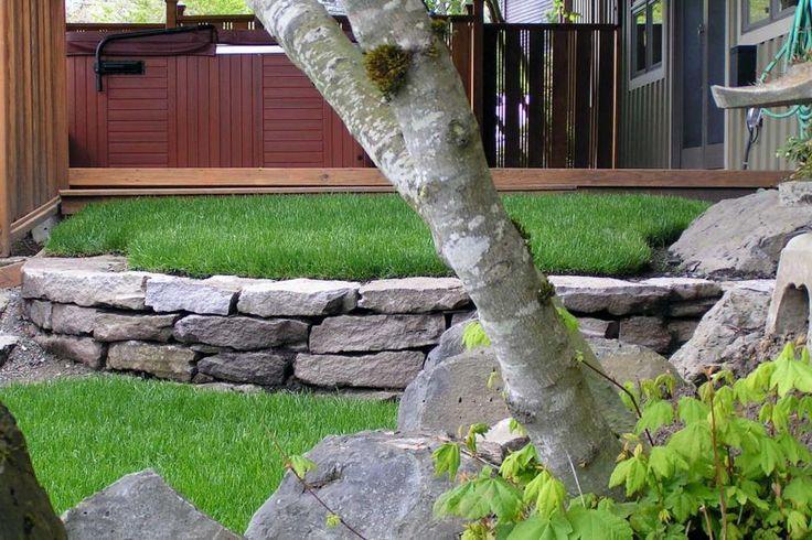 Landscape Boulders Spokane : Best ideas about boulder retaining wall on