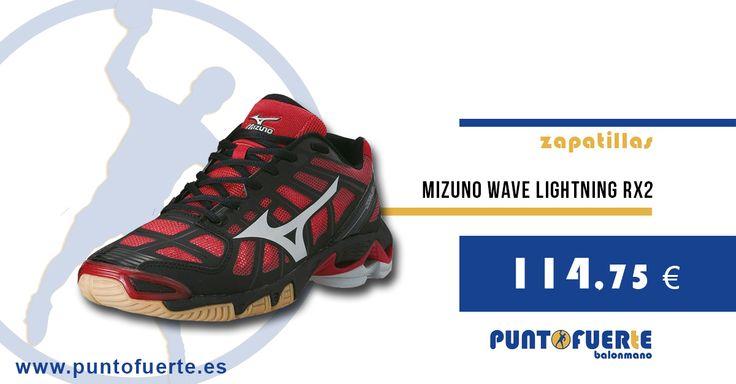 Zapatillas #Mizuno Lightning RX2 http://btlr.me/1kBQpqm ¡Últimos números por renovación de stock! Calzado outlet. ¡Aprovecha! #zapatillas #balonmano #outlet #PuntoFuerte