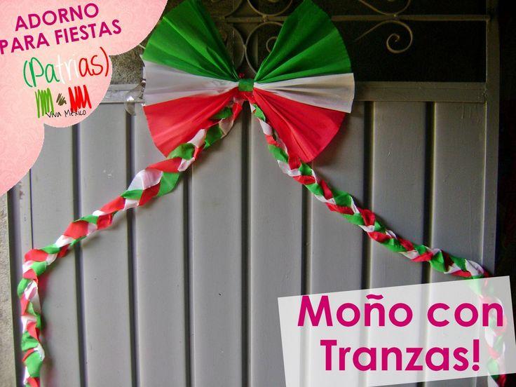 Decoracion Septiembre Mexico ~ adornar en adornos para fiestas patrias mexicanas de septiembre viva