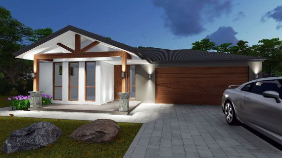 House Plan 228 Milly RH  Ranch Style  4 by AustralianHousePlans