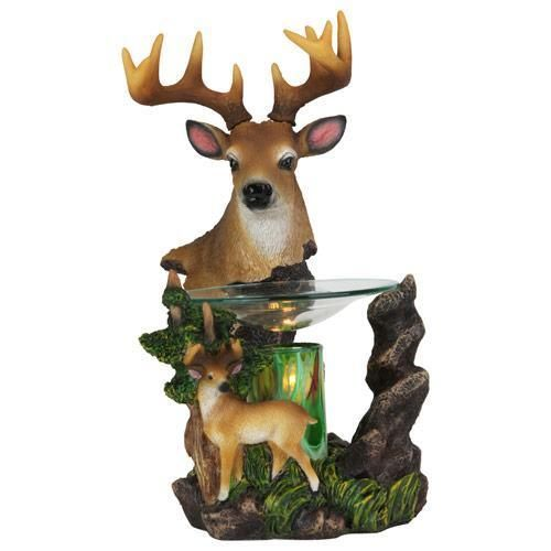 DEER ELECTRIC OIL WARMER/BURNER/NITELIGHT - NIB