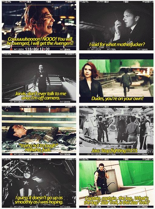 The Avengers - Gag Reels