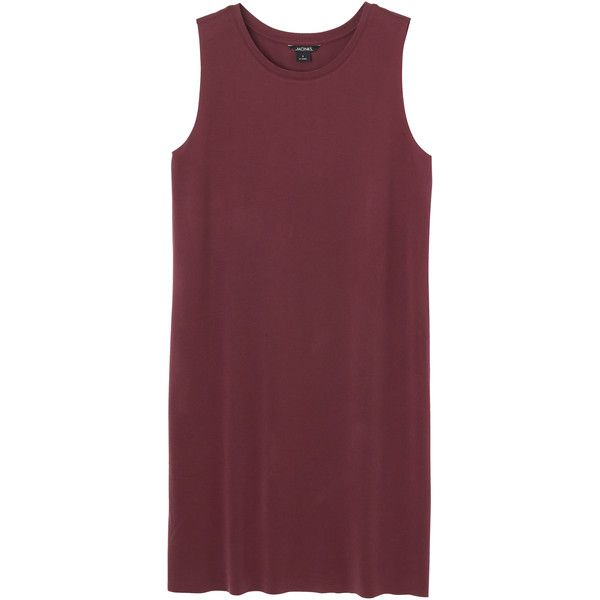 Elvi dress ($110) found on Polyvore featuring dresses, sleeveless dress, red sleeveless dress, monki, short dresses and short sleeveless dress