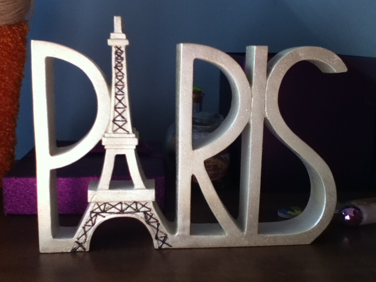 Cute Paris decoration