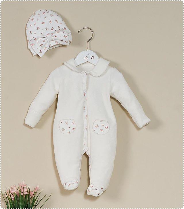 طقم افرول برسمة الورة الصغيرة مناسبه لطفلتك ومصنوعه من القطن الطبيعي طفلتي الجديده Clothes Baby Onesies Fashion