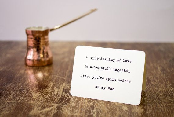 Sarcastic card A true love by Flexiwood on Etsy