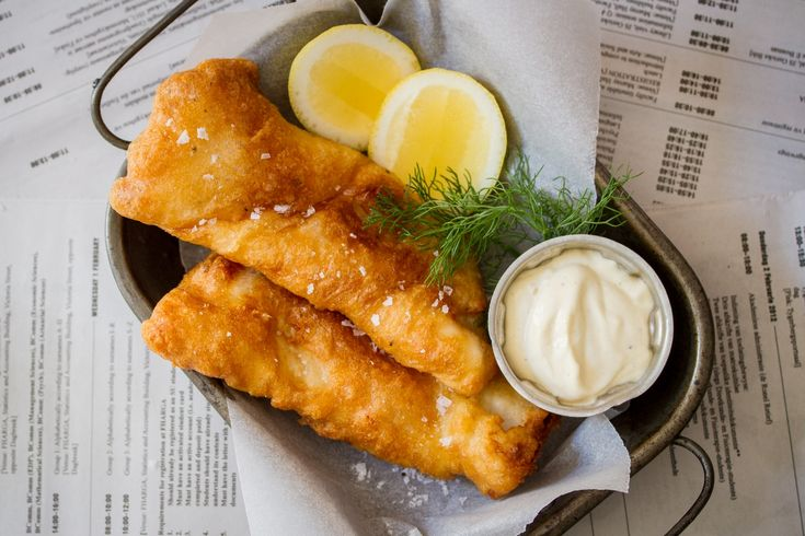 Crispy beer battered fish - Perfect for fish-and-chips!
