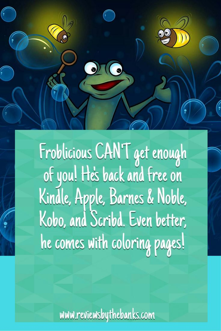 The Adventures of Froblicious the Frog is the first book in the series Let's Learn while Playing by Kelly Santana-Banks