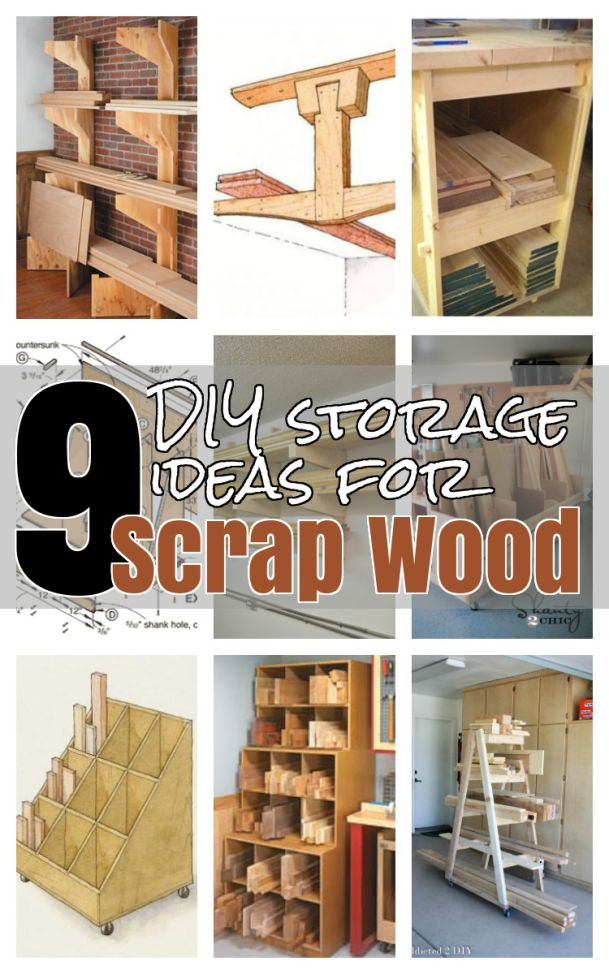 17 Best Images About Lumber Storage Ideas On Pinterest