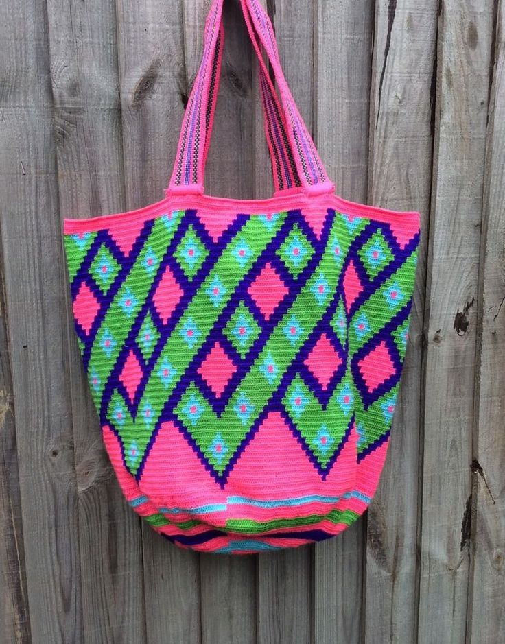 Authentique Colombian Wayuu Playera rare to find! in Clothes, Shoes & Accessories, Women's Handbags | eBay!