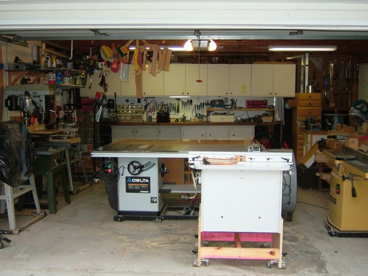 25 best images about wood shop ideas on pinterest shops for One car garage woodshop