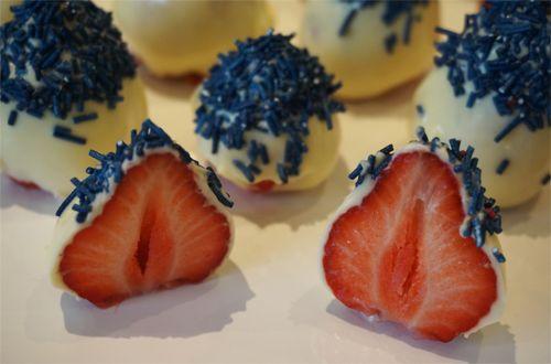 17.mai jordbær - Cakeplease