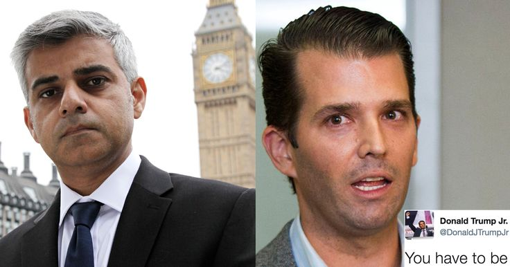 Trump Jr. Just Smeared London's Mayor And Got A Brutal Response