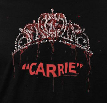 """horrorshirts: """"Carrie (1976) """""""