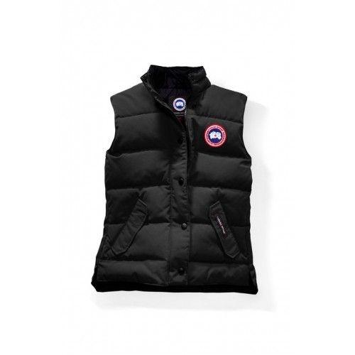 Canada Goose Damen 2017/18 - Kaufen 2017 Canada Goose Damen Freestyle Vest Schwarz Jacke Shop