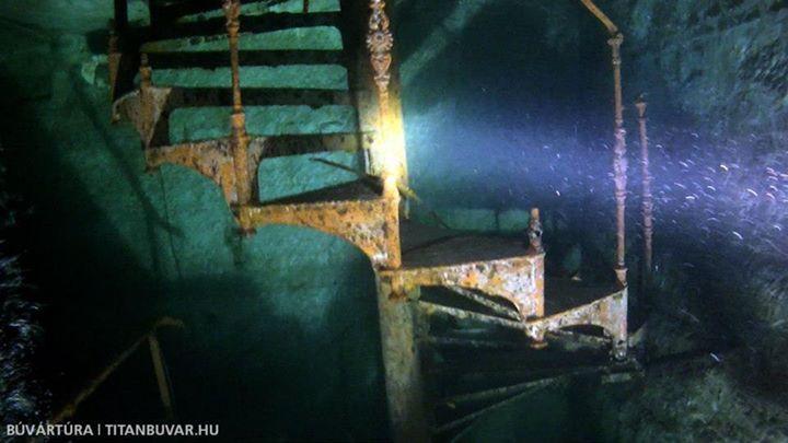 "Diving in the basement system of a former beer factory called ""Kőbánya""    http://www.titanbuvar.hu/diving-in-the-flooded-cellars-of-kobanya-budapest/   #kőbánya #búvár #CaveDiving #Suba #diving #Hungary #Magyar #búvárkodás #TecDiving #Budapest #merülés #Taucher"