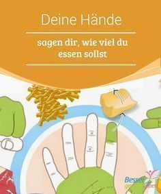 Deine #Hände sagen dir, wie viel du essen sollst Es gibt eine ganz #einfache #Methode, mit der du die Mengen der empfohlenen #Nahrungsmittel schnell messen kannst. Du benötigst dafür nur deine Hände.
