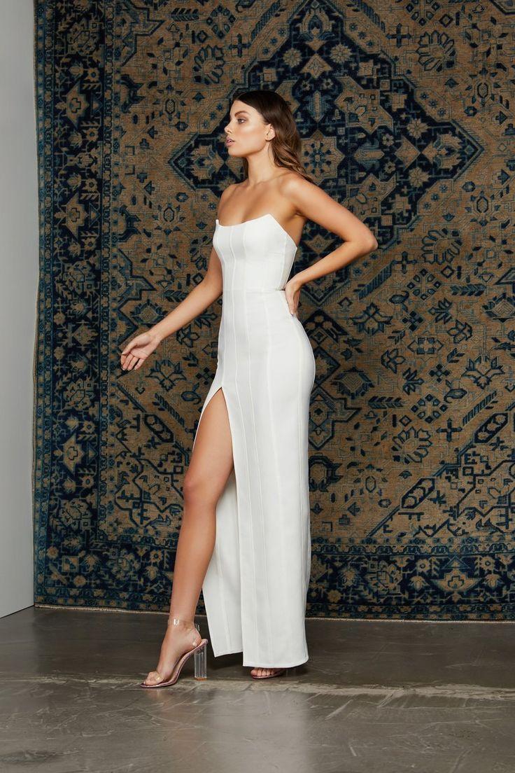 Svecane haljine  Elegante kleider, Weiße partykleider, Event kleider