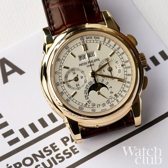 The word on the Geneva street, is that Patek produced fewer 5970's in yellow gold than in any other precious metal, including platinum. That and the fact many consider it to be the best looking of the set, is great news for the select few around the world who are lucky enough to own one