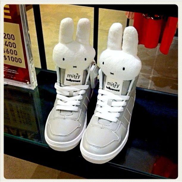 twopercent, Pai Tau, Hong Kong - miffy shoes
