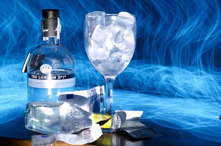 Gin Tonic azúl