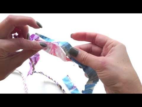 楽しすぎてやめられない♪はぎれを使ったカラフルでかわいいロープの編み方。頭がからっぽになるよ!| iemo[イエモ]