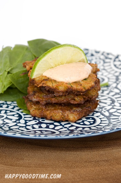 Sweet Potato and Zucchini Latkes with Chipotle Lime Dipping Sauce ...